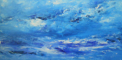 Thunder Painting - Roaring Thunder 2 by Jane See