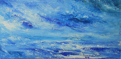Thunder Painting - Roaring Thunder 3 by Jane See