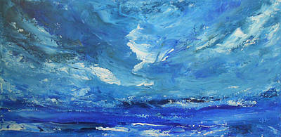 Thunder Painting - Roaring Thunder by Jane See