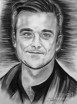 Roberto Drawing - Robbie Williams by Gitta Glaeser