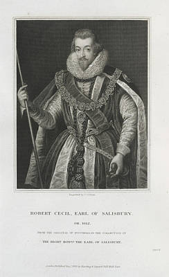 Robert Cecil Print by British Library