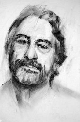 Robert De Niro Portrait Original by Cristina Lo