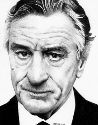 Robert De Niro Original by Rick Fortson