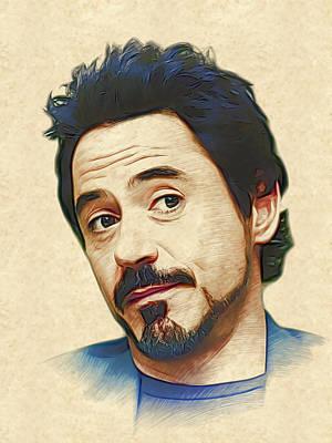 Robert Downey Jr. Original by Marina Likholat