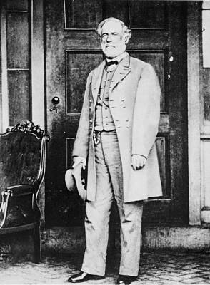 The General Lee Photograph - Robert Edward Lee  by American Photographer