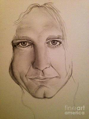 Robert Plant Drawing - Robert by Manon Zemanek