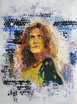 Robert Plant Painting - Robert Plant by Vidya Vivek