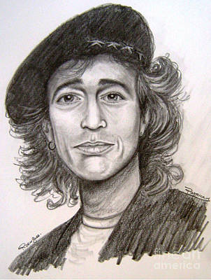 Andy.gibb Painting - Robin Gibb by Patrice Torrillo
