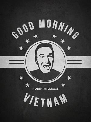 Robin Williams - Dark Print by Aged Pixel
