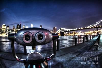 Robot Views Print by Andrew Paranavitana