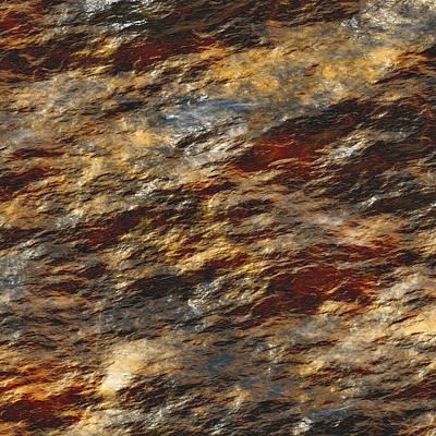 Large Mixed Media - Rock Abstract 01 by Georgiana Romanovna