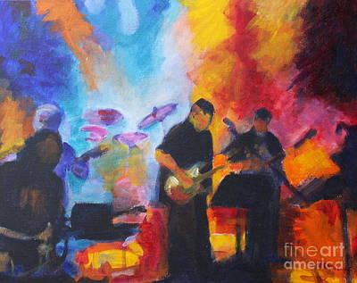 Rock And Roll Original by Jan Bennicoff