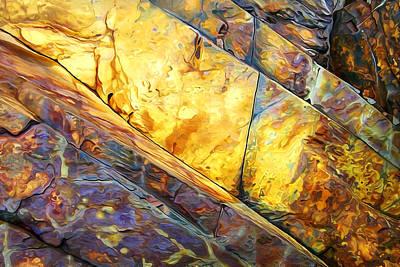 Rock Art 23 Print by Bill Caldwell -        ABeautifulSky Photography
