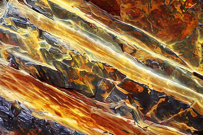 Rock Art 26 Print by Bill Caldwell -        ABeautifulSky Photography
