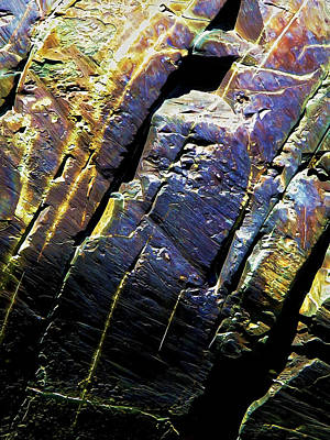 Rock Art 9 Print by Bill Caldwell -        ABeautifulSky Photography