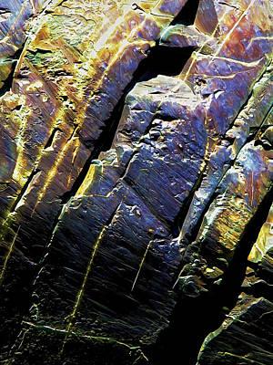 Manipulation Photograph - Rock Art 9 by Bill Caldwell -        ABeautifulSky Photography