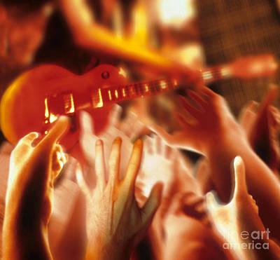 Rock Concert Print by Novastock