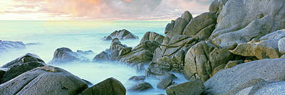 Lands End Photograph - Rock Formations At Coast, Lands End by Panoramic Images