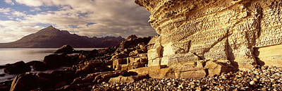 Elgol Photograph - Rock Formations On An Island, Elgol by Panoramic Images
