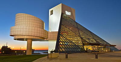 Rock Hall Stones Tribute Print by Frozen in Time Fine Art Photography
