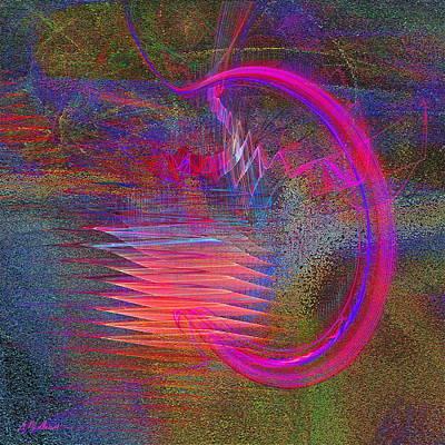 Music Digital Art - Rock N Roll by Michael Durst