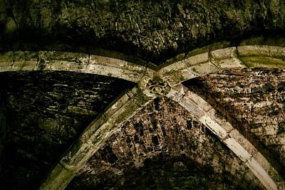 Architecture Photograph - Nave Ceiling Detail - Rock Of Cashel by Nadalyn Larsen
