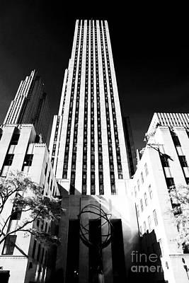 Rockefeller Center Print by John Rizzuto