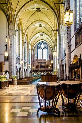 Music Recital Photograph - Rockefeller Chapel 2 by Julie Palencia