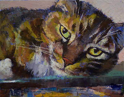 Realist Painting - Rockefeller by Michael Creese