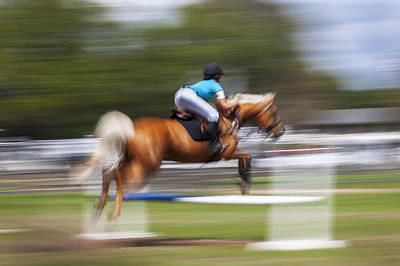 Eventing Photograph - Rocking Horse Stables by Rich Franco