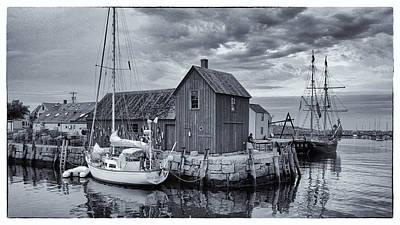 Fishing Shack Photograph - Rockport Harbor Lobster Shack by Stephen Stookey