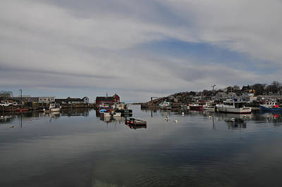 Rockport Harbor Print by Mike Martin