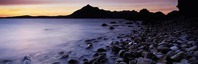 Elgol Photograph - Rocks On The Beach, Elgol Beach, Elgol by Panoramic Images