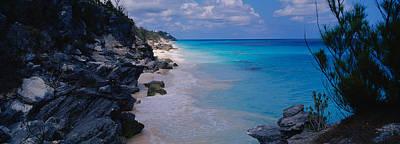 Bermuda Photograph - Rocks On The Coast, Bermuda by Panoramic Images
