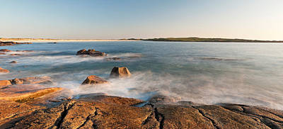 Rocks On The Coast, Dogs Bay Print by Panoramic Images