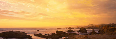 Mendocino Photograph - Rocks On The Coast, Mendocino by Panoramic Images