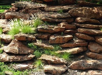 Landscape Photograph - Rocks by Zina Stromberg