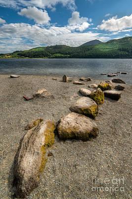 Lakes Digital Art - Rocky Beach by Adrian Evans