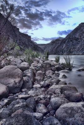 Grand Canyon Digital Art - Rocky Beach by Ellen Heaverlo