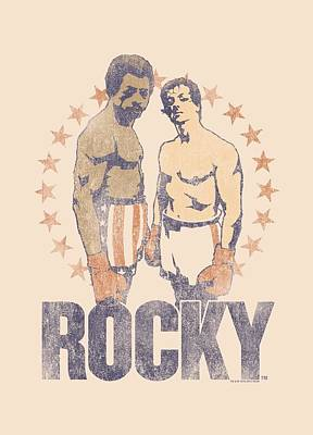 Boxer Digital Art - Rocky - Creed And Balboa by Brand A
