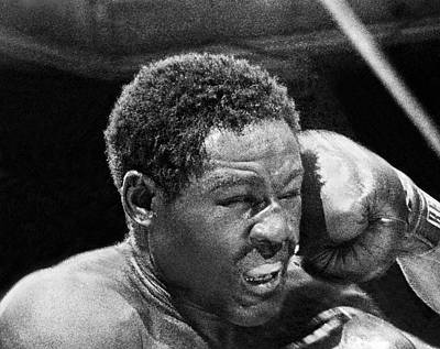 Knockout Photograph - Rocky Marciano Fist by Underwood Archives