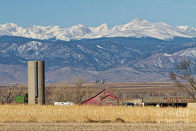 Farm Photograph - Rocky Mountain Country View by James BO  Insogna
