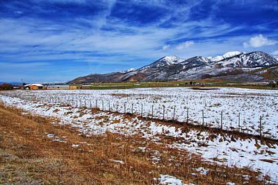 Rocky Mountain Ranch Print by Aidan Moran