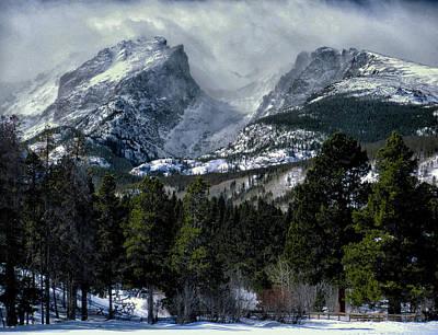 Rocky Mountains Print by Jim Hill