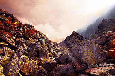 Weather Photograph - Rocky Mountains Landscape by Michal Bednarek