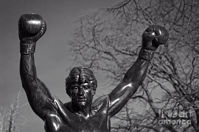 Philadelphia Champion - Rocky Photograph - Rocky Statue by Tom Gari Gallery-Three-Photography