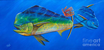 Swordfish Drawing - Rodeo Clown by Johnny Widmer