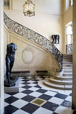 Rodin Staircase Print by Brian Jannsen