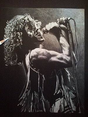Limelight Drawing - Roger Daltrey by Greg Schram