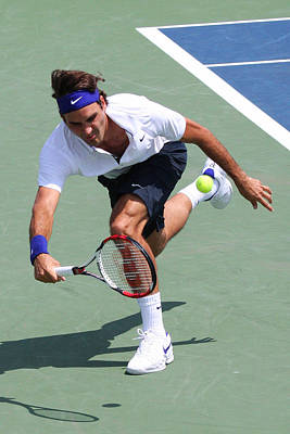 Roger Federer  Print by James Marvin Phelps